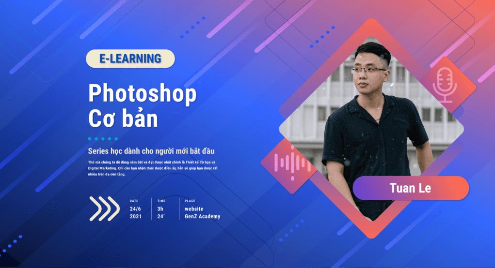 banner photoshop co ban e learning