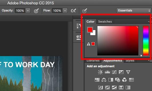 Công cụ Color and Swatches cho phép bạn sử dụng, sửa đổi, sao chép và lưu các màu tùy chỉnh cho nội dung của mình.