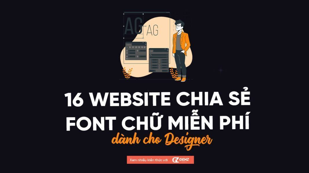 16 website chia se font chu mien phi danh cho designer